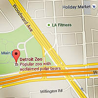 Directions to the Detroit Zoo - Maps