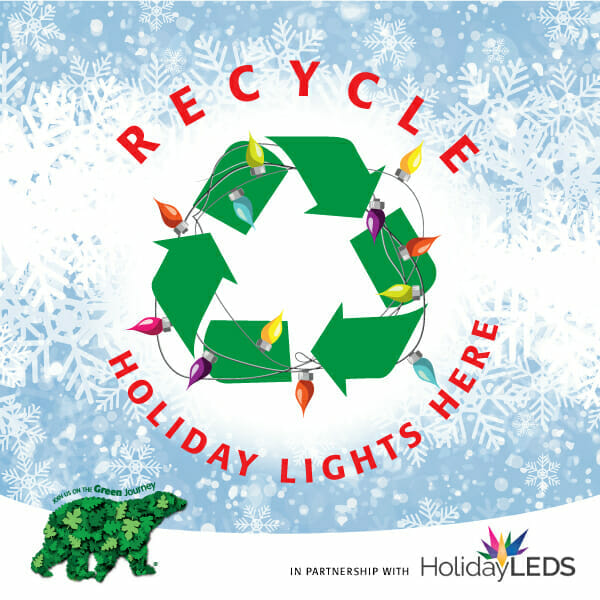 Free holiday light recycling during Wild Lights